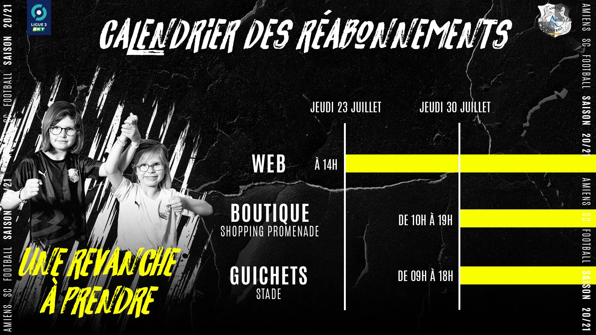 Amiens SC Football   Campagne de réabonnements 2020/2021